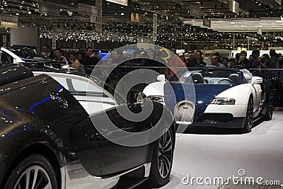 Bugatti Veyron Grand Sport Editorial Photography
