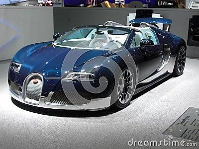 Bugatti Veyron Grand Sport Editorial Stock Photo