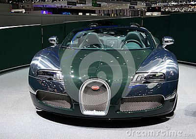 Bugatti Veyron Grand Sport Vitesse 2014 Editorial Photo