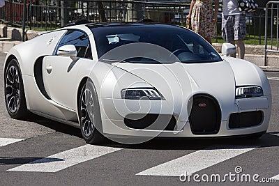 Bugatti Veyron Supercar Editorial Stock Image