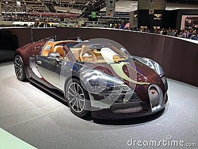 Bugatti Veyron Vitesse Editorial Stock Image