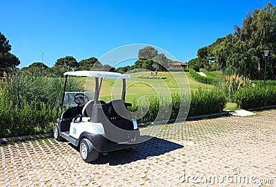 Buggy in Sueno Golf Club.