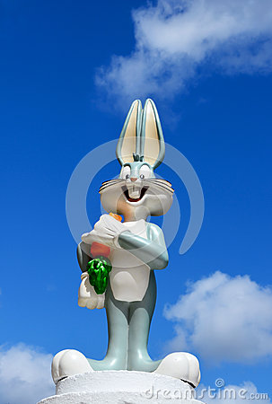 Bugs Bunny figure from Warner Bros Editorial Image