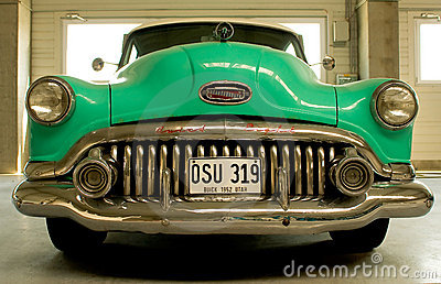 Buick Eight 1952 Editorial Stock Image