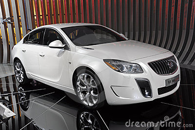 Buick Regal Imagem de Stock Editorial