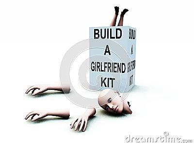 Build A Girlfriend kit 42