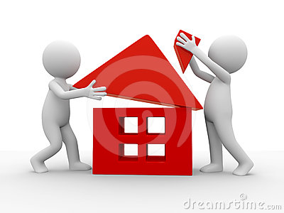 Build A House Stock Photography - Image: 24339212