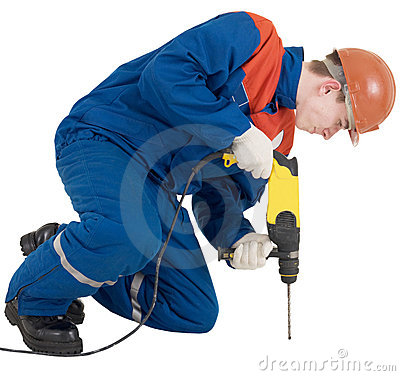 Free Builder And Perforator Stock Images - 7484934