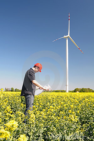 Builder Builders Windmills. Royalty Free Stock Photography - Image: 11645087