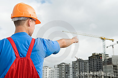 Builder and building under