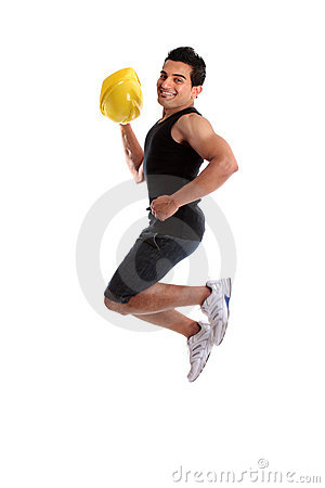 Builder construction worker success