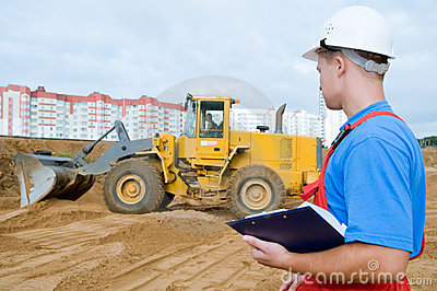 Builder inspector at construction
