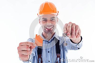 A builder man