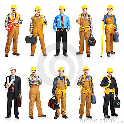 Free Builder People Royalty Free Stock Image - 8514826
