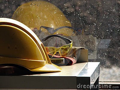 Builder s hard hat