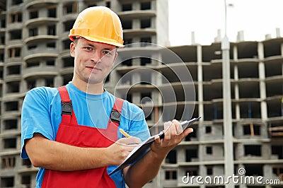 Builder satisfied inspector at