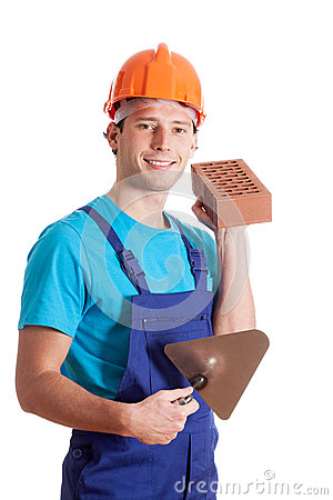 Builder with spatula