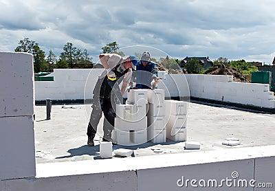Builders in action