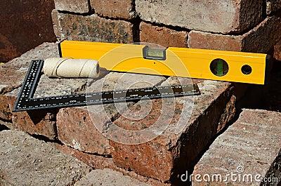 Builders measuring tools