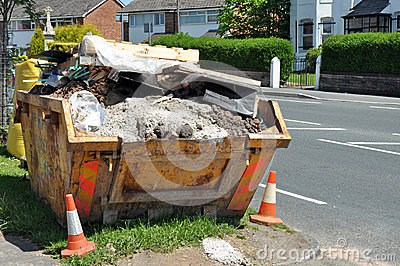 Builders Rubble Skip
