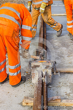 Free Builders Weld And Joining Segments Stock Photo - 46498970