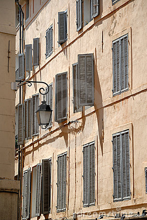 Building in Aix-en-Provence, France