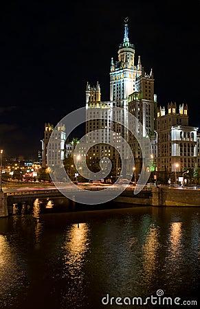 Free Building At Kotelnicheskaya Embankment Royalty Free Stock Photo - 11074485