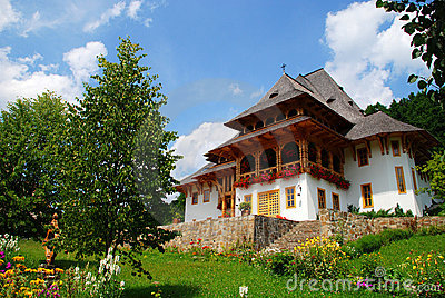 Building of Barsana monastery