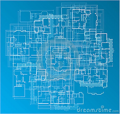 Building Blueprint Royalty Free Stock Photos Image 11040628