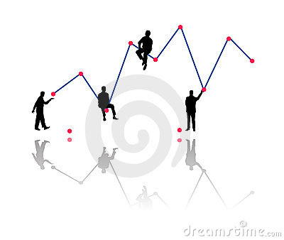 Building business growth chart