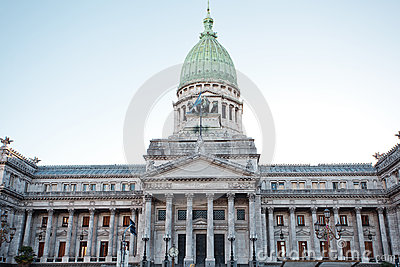 Building of Congress  in Buenos Aires