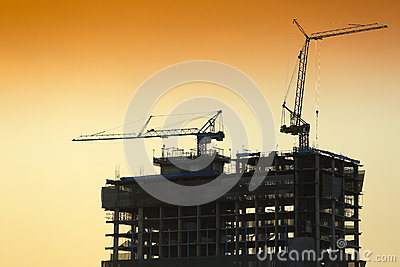 Building constructure of cityscape