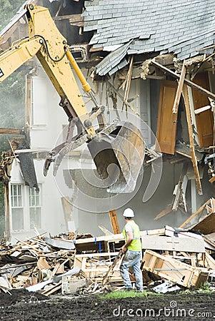Building demolition 5