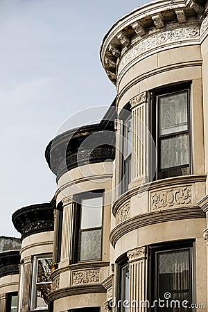 Building facade in Brooklyn New York