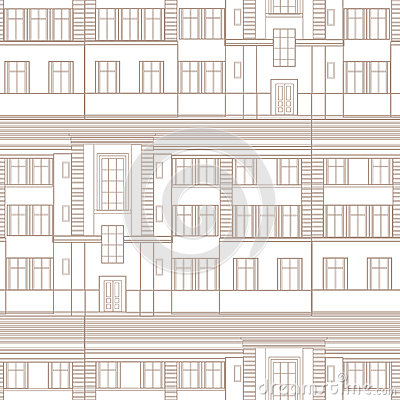 Building facade seamless pattern city architectural retro blueprint building facade seamless pattern city architectural retro blueprint royalty free stock photography malvernweather Gallery