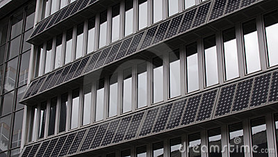 Building Facade With Solar PVs