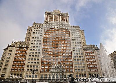 Building facade Spain
