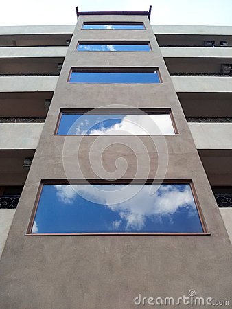 Building facade windows