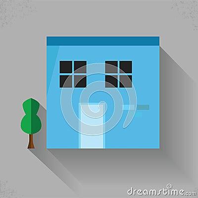 Building Flat Color