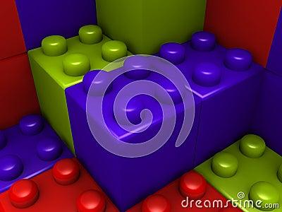 Building lego blocks
