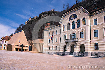 The building of parliaments of Liechtenstein