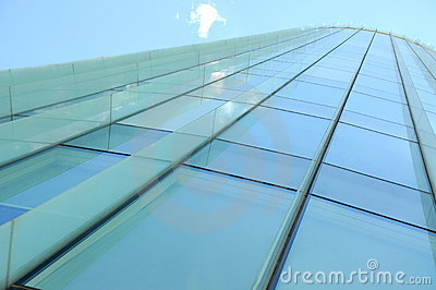 Building perspective (glass wall)