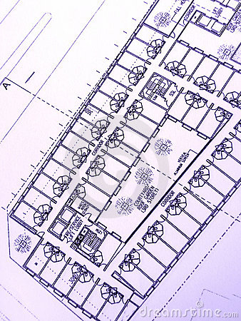 Building plan, office building
