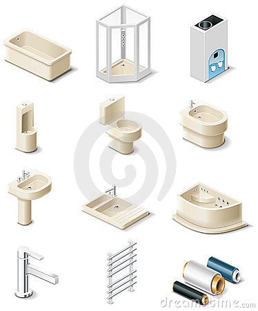 Free Building Products. Part 5. Sanitary Engineering Stock Photography - 13569452