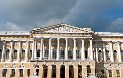 Building of the Russian Museum in St. Petersburg.