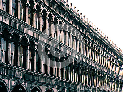 Building in San Marco square, Venice