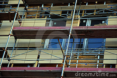 Building with scaffolds