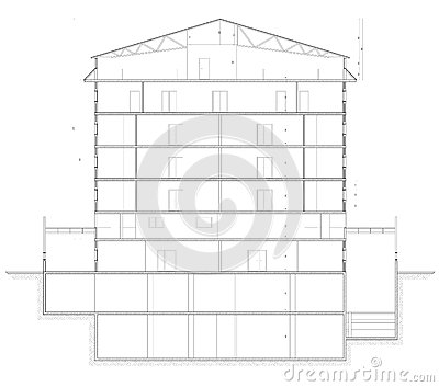 Building Section Plan