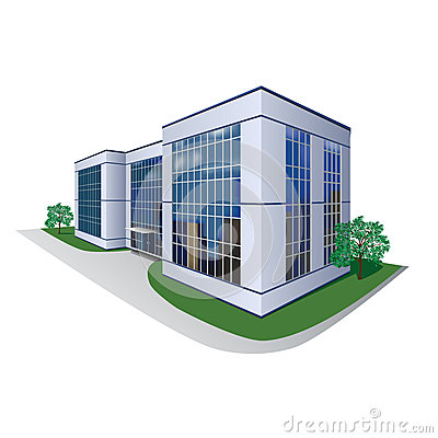 Business Office Building  Real Data Center Building Icon
