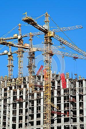 Building site vertical.